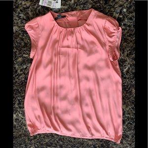 INC NWT Paris Pink Blouse